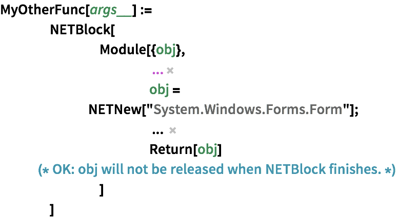 Calling  NET from the Wolfram Language—Wolfram 语言参考资料