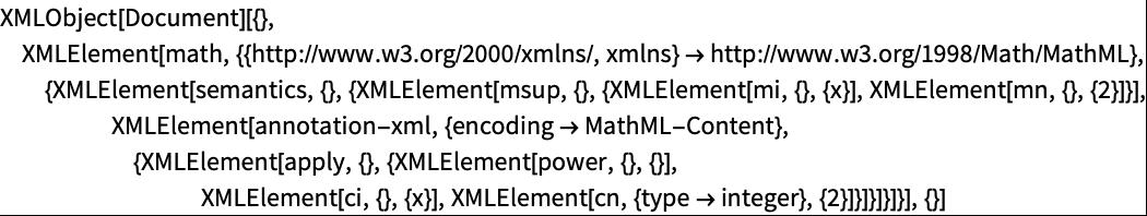 Importing XML—Wolfram Language Documentation