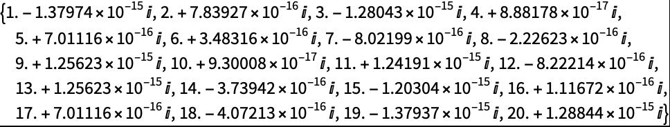 Chop—Wolfram Language Documentation