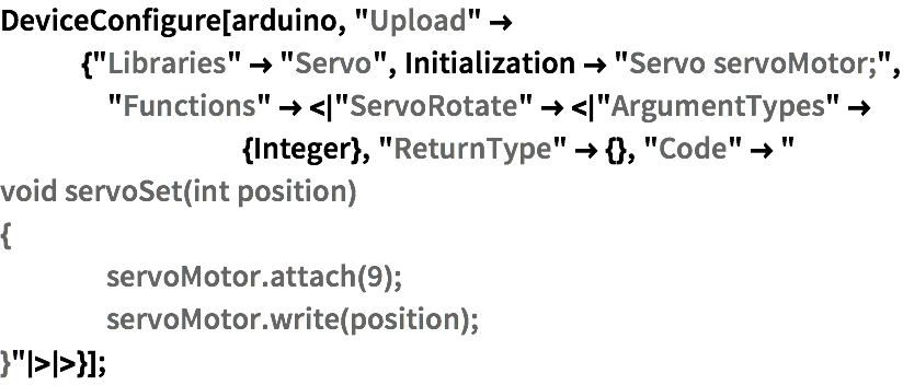Arduino—Wolfram Language Documentation