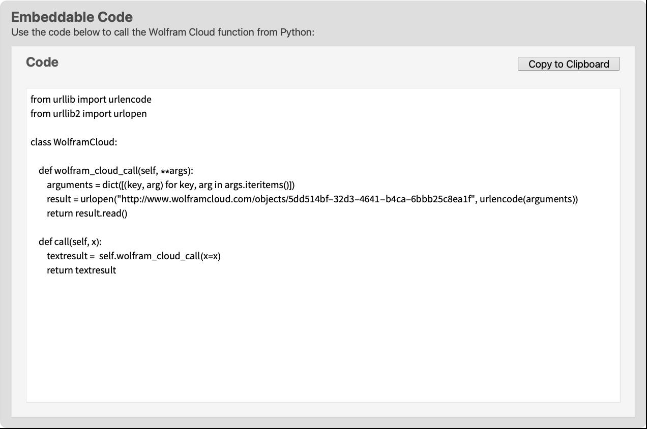 Python—Wolfram Language Documentation