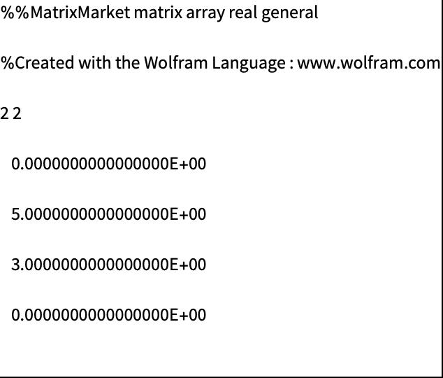 MTX ( mtx)—Wolfram Language Documentation