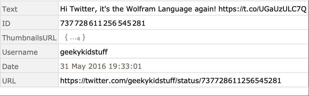 Twitter—Wolfram Language Documentation