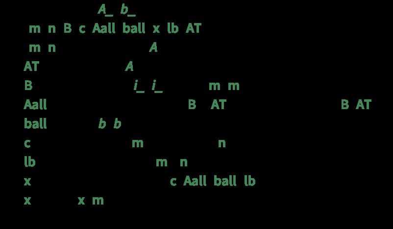 Linear Programmingwolfram Language Documentation