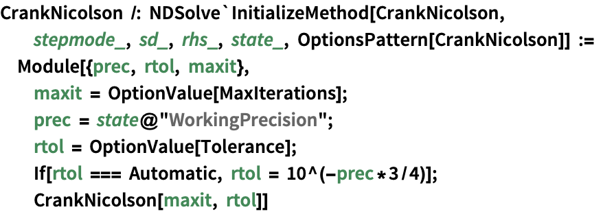 NDSolve Method Plugin Framework—Wolfram Language Documentation